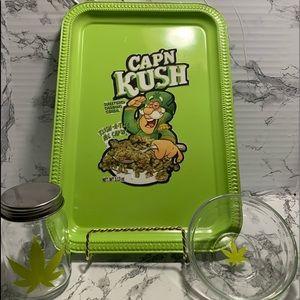 Capn kush rolling tray